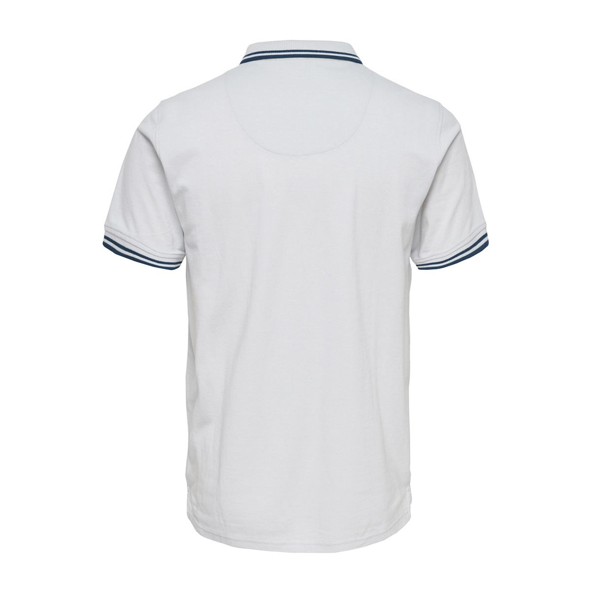onsstan ss fitted polo tee (6560) noos 22011349 only & sons polo cloud dancer