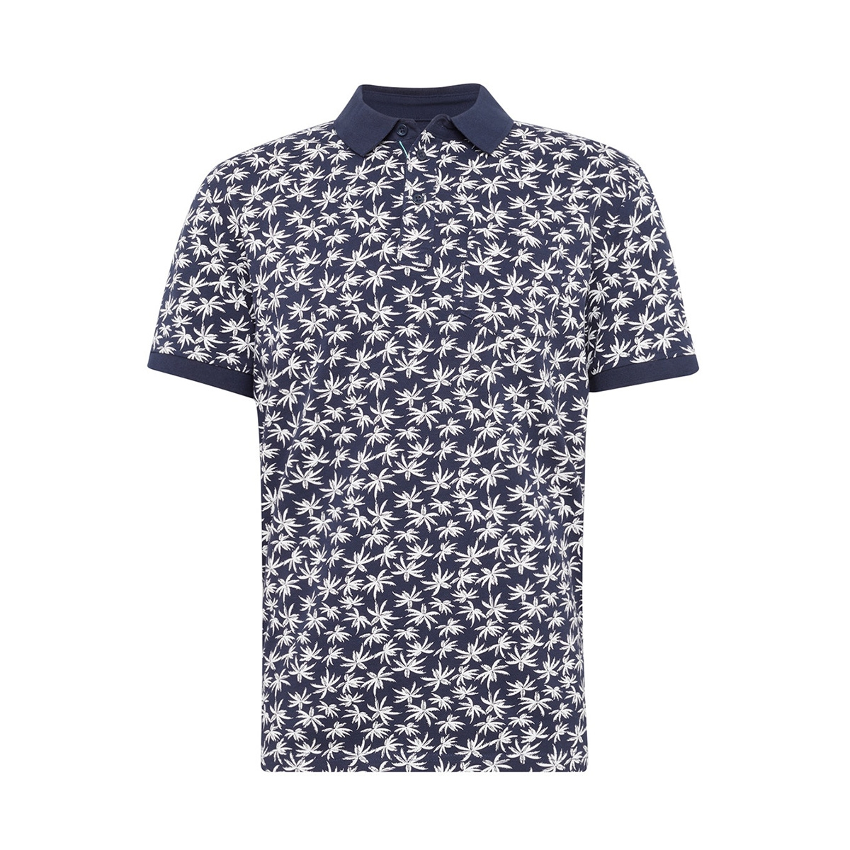 polo met patroon 1011572xx10 tom tailor polo 17657