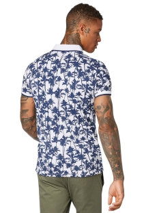polo met print 1014317xx12 tom tailor polo 18640