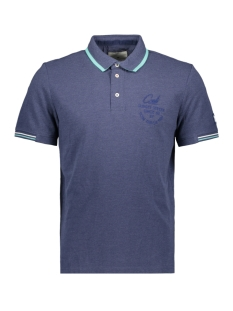Tom Tailor Polo POLO MET MELANGE LOOK 1011570XX10 12245