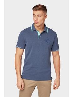polo met melange look 1011570xx10 tom tailor polo 12245