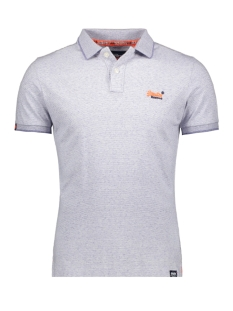 orange label jersey polo m11206eu superdry polo optic grit feeder