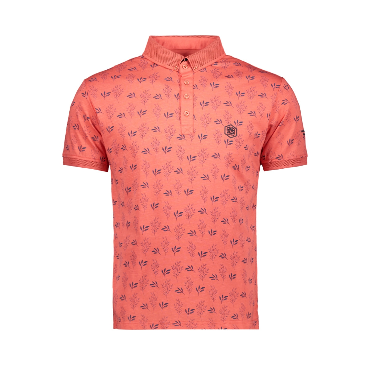 short sleeve polo 22137 gabbiano polo coral