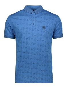 short sleeve polo 22137 gabbiano polo blue