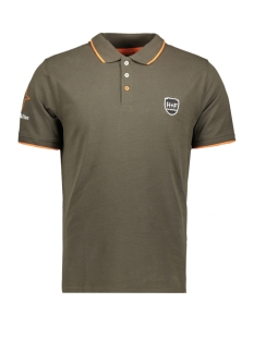Haze & Finn Polo POLO LOGO MC9 0350 ARMY GREEN