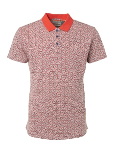 NO-EXCESS Polo ALL OVER PRINTED POLO 91380504 060 RED