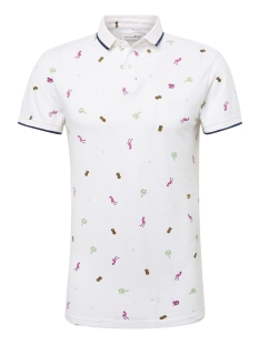 Tom Tailor Polo POLOSHIRT MET ALL OVER PRINT 1011392XX12 18288