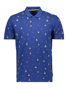 Only & Sons Polo ONSBRODERY SS AOP PIQUE POLO 22015351 Sodalite Blue