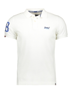Superdry Polo CLASSIC PIQUE POLO M11202RU 01C WHITE