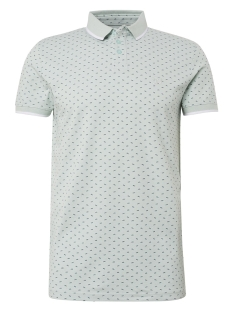 polo met all over print 1010866xx12 tom tailor polo 17827