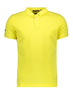 Superdry Polo VINTAGE DESTROY S S POLO M1100TQF5 CHELLO YELLOW