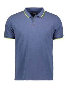 Haze & Finn Polo POLO AUTHENTIC MC 0300 NAVY MELANGE