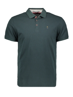 polo all over printed 92380703 no-excess polo 157 dk seagreen