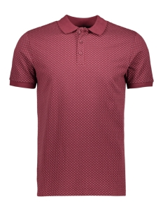 Only & Sons Polo onsKEAN AOP SS POLO 22014788 Zinfandel
