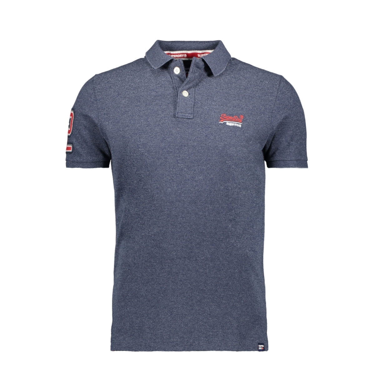classic pique s s polo m1100004a superdry polo creek navy grindle