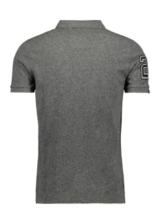 classic pique s s polo m1100004a superdry polo nordic charcoal grit