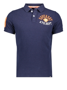 Superdry Polo CLASSIC POLO M1100009A TECHNO NAVY MARL