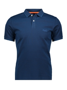 Superdry Polo CLASSIC LITE POLO M1100002A CARBON BLUE