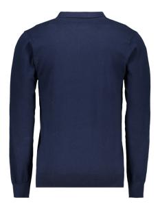 knit polo ls mc10 0213 haze & finn polo dark navy
