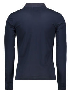 edit l/s polo m1100005a superdry polo navy