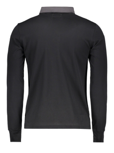 edit l/s polo m1100005a superdry polo black