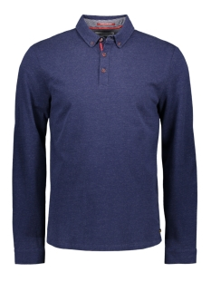 NO-EXCESS Polo LONG SLEEVE POLO 95120180 037 NAVY