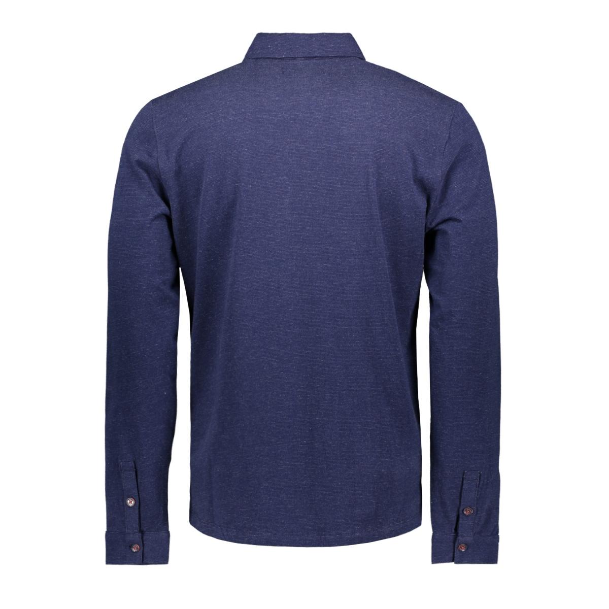 long sleeve polo 95120180 no-excess polo 037 navy