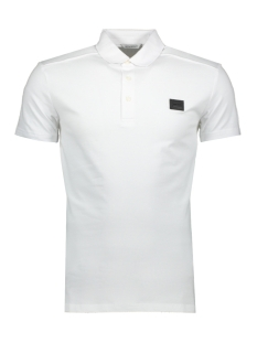 Antony Morato Polo POLO SPORT THE GREEN LIN MMKS01419 1000 WHITE