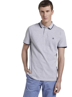 Tom Tailor Polo GEDESSINEERDE POLO SHIRT 1017681XX12 22223