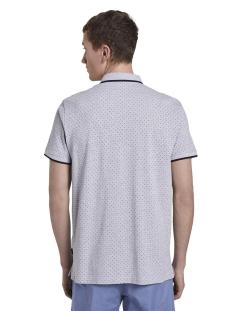 gedessineerde polo shirt 1017681xx12 tom tailor polo 22223