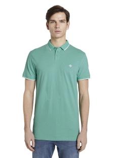 gedessineerde polo shirt 1017681xx12 tom tailor polo 22809