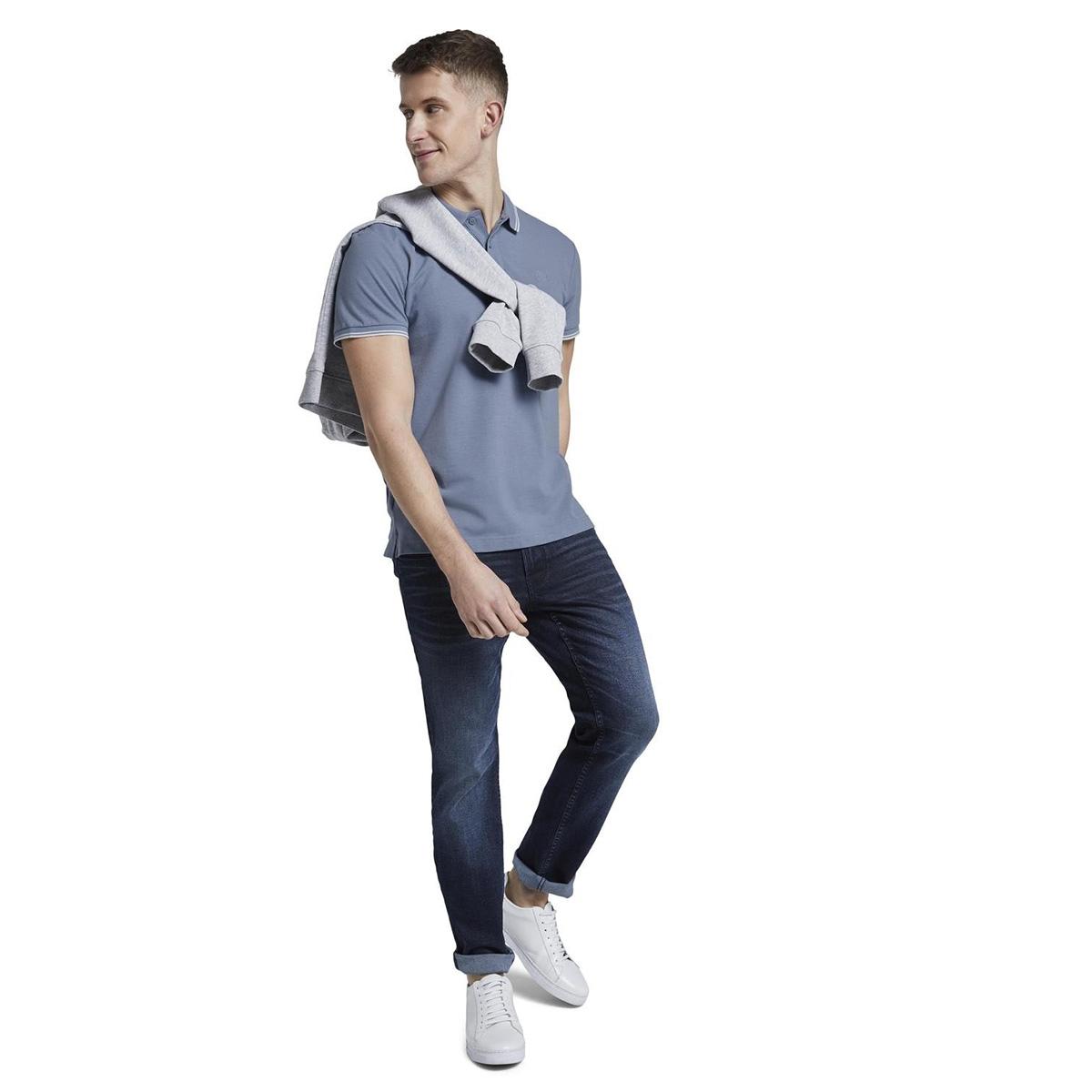 polo shirt met textuur 1016309xx12 tom tailor polo 11013