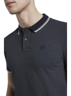 polo shirt met textuur 1016309xx12 tom tailor polo 13684