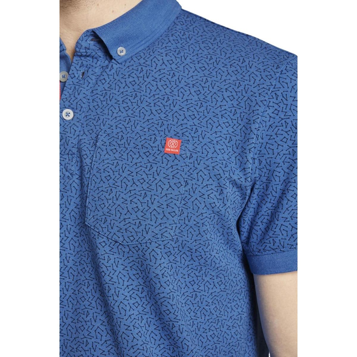 gedessineerde polo 1017610xx10 tom tailor polo 22191