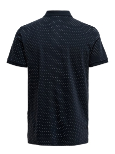onskeen slim ss jaquard polo 22016088 only & sons polo dark navy