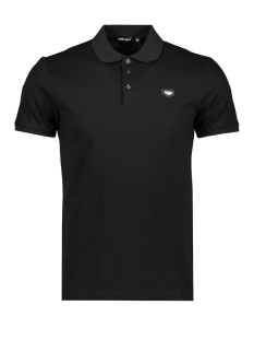 Antony Morato Polo POLO WITH PATCH MMKS01738 9000 BLACK