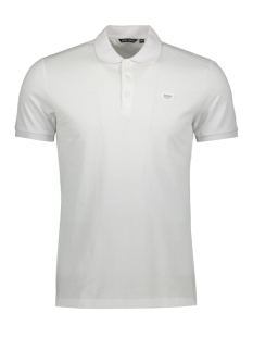 Antony Morato Polo POLO WITH PATCH MMKS01738 1000 WHITE