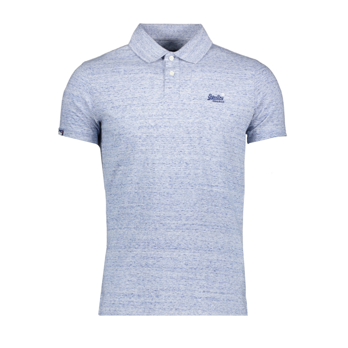 jersey s/s polo m1110002a superdry polo gravel blue grit