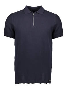Superdry Polo EDIT S S KNITTED POLO M6110020A DARK NAVY