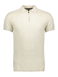Superdry Polo EDIT S S KNITTED POLO M6110020A LIGHT GREY MARL