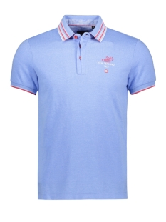 NZA Polo BARFOOT 20BN113 259 FRESH BLUE