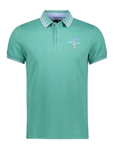 NZA Polo BARFOOT 20BN113 493 NEW GREEN