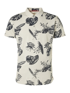 all over printed polo 95380210 no-excess polo 011 offwhite