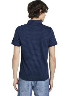 polo shirt met getextureerd patroon 1018147xx10 tom tailor polo 10334