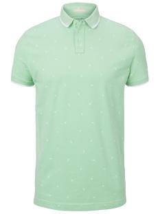 polo shirt met all-over print 1019094xx12 tom tailor polo 23112