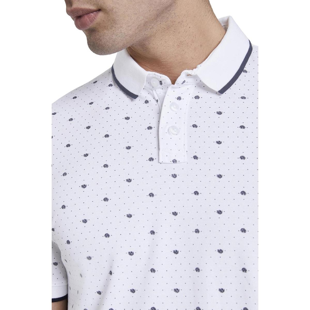 polo shirt met all over print 1019094xx12 tom tailor polo 23121