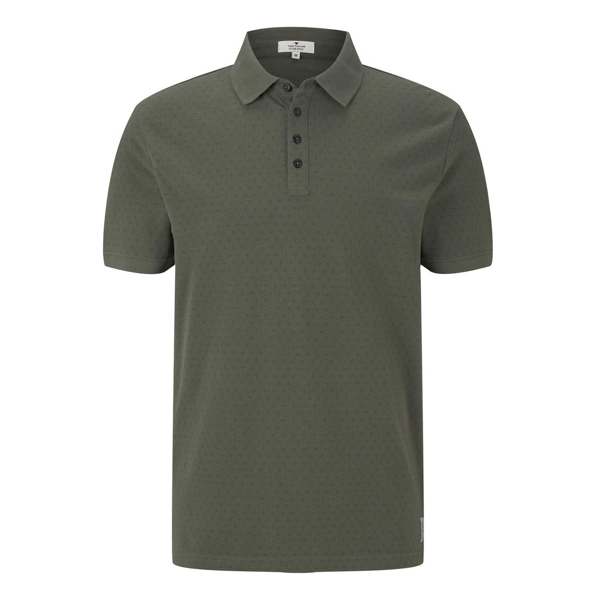 polo met all over print 1020784xx10 tom tailor polo 10573