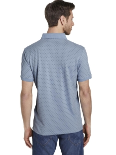 polo met all over print 1020784xx10 tom tailor polo 11752