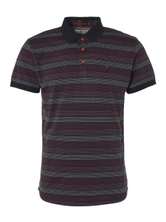 NO-EXCESS Polo STRIPED POLO 95380351 162 Cayenne