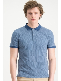 Haze & Finn Polo POLO AOP MC13 0302 NAVY ARGYLE
